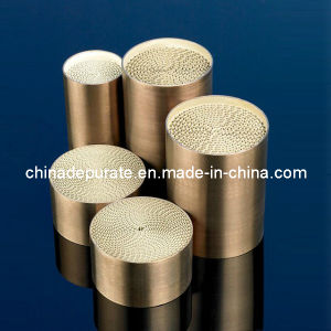 Automotive Engine Exhaust System Metallic Substrate Catalytic Converter pictures & photos