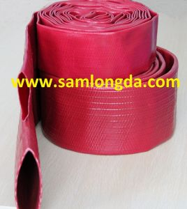 "High Pressure PVC Layfalt Hose for Irrigation (3/4""-12"") pictures & photos"