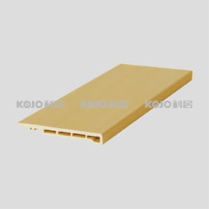 Eco-Friendly Wood Plastic Composite WPC Decorative Material Architrave (MT-8010) pictures & photos