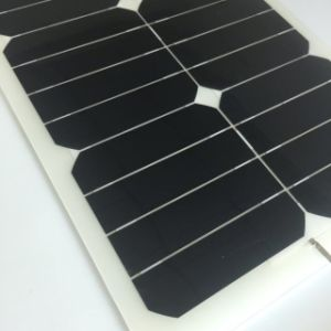 Most Popular Sunpower Solar Cell 27W Flexible Solar Panel 18V pictures & photos