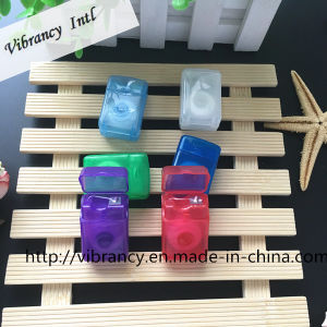 Oral Hygiene Translucent Rectangular Shape Case Dental Floss pictures & photos