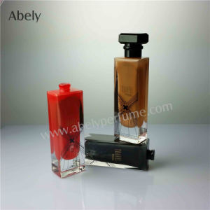 Designer Glass Perfume Bottle with Inside Lacquering pictures & photos