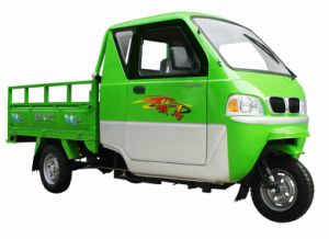 2015 New Closed Cabin Cargo Tricycle with Side Doors pictures & photos