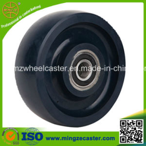 Industrial Heavy Duty Solid PU Wheels Caster for Trolley pictures & photos