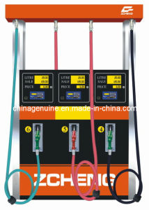 Zcheng Filling Station Petrol Fuel Dispensing Pump 6 Hose pictures & photos