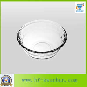 New Design Clear Glass Bowl Ice Cream Bowl Glassware with High Quality Kb-Hn0199 pictures & photos