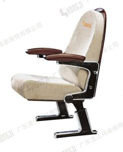 High Back Aluminum Alloy Leg Lecture Chair, Fabric Auditorium Seating (HJ70) pictures & photos