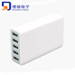 Most Popular USB Charging Station with 5 Ports (LCK-MU12) pictures & photos