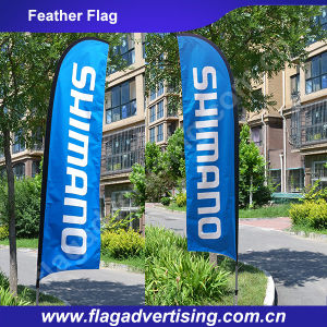 2016 High Quality Flying Beach Flag Banner, Fiberglass Feather Flag Pole pictures & photos