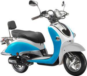 EEC Retro Street Motorbike Scooters (HD125T-10A)