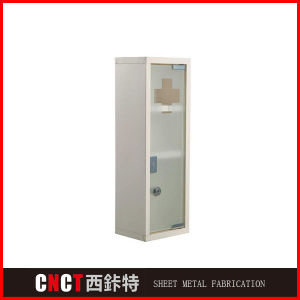 High Quality 3 Door Medicine Metal Cabinet, Medicine Box pictures & photos