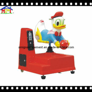 Amusement Park Kiddie Ride Children′s Electric Swing Car Donald Duck pictures & photos