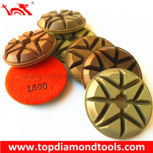 Concrete Resin Polishing Pads for Floor Grinders pictures & photos