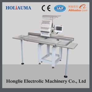 New Single Head Flat Embroidery Machine with Embroidery Area 400*1200mm pictures & photos