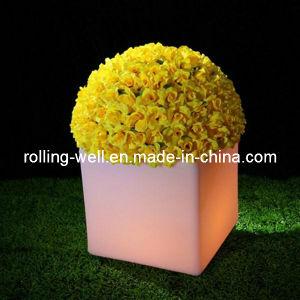 2016 Outdoor Plastic LED Flower Pots for Garden (full-set)