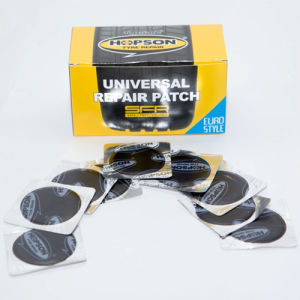 45mm Round, Aluminum Foil Backed Universal Patch pictures & photos