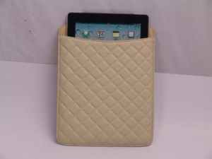 Hot Selling Wholesale Fashion PU Leather for iPad Case (MD01220)