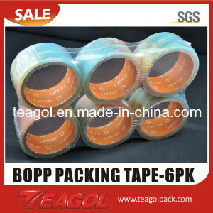 Adhesive Packing Tape-6pk pictures & photos