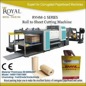Ryhm-1700 Model Rotary Paper Cutting Machine pictures & photos