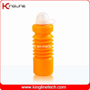 Plastic Sport Water Bottle, Plastic Sport Water Bottle, 600ml Plastic Drink Bottle (KL-6640) pictures & photos