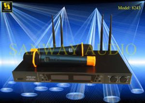 Wireless Microphone System, Karaoke Microphone pictures & photos