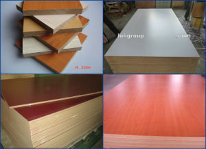 MDF with Melamine Paper pictures & photos