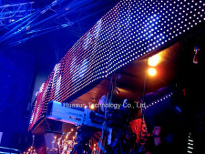 P75mm Soft LED Video Curtain for Stage Events pictures & photos