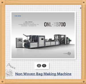 Non Woven Reusable Bags Making Machine pictures & photos