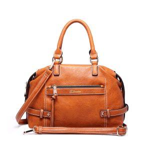 Simple Cheap Soft Leather Ladies Designer Handbags pictures & photos