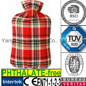 CE Checks Scottish Hot Water Bottle Cover Tartan pictures & photos