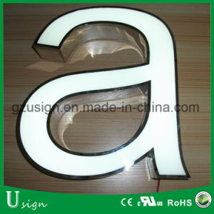 Cheap Bright Front Lit LED Channel Letter/Outdoor LED Raised Letter Sign pictures & photos