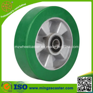 Hand Trolley Elastic Polyurethane Alloy Core Wheel pictures & photos
