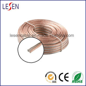Speaker Cables with Oxygen-Free Copper or CCA Conductor, Various Colors Are Available pictures & photos