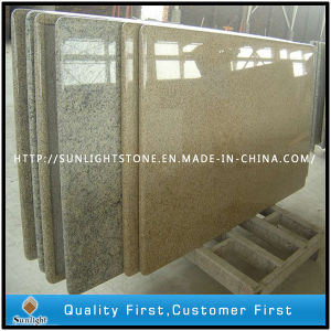 Polished Prefab Yellow/Golden Granite Kitchen Countertop pictures & photos