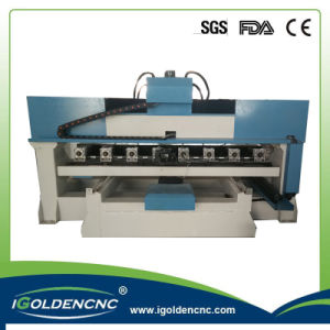 4th Axis Table Moving Cylinder Engraving CNC Machine pictures & photos