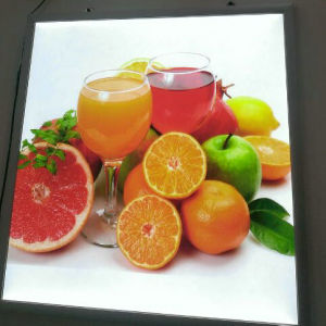 LED Advertising Clip Snap Frame pictures & photos