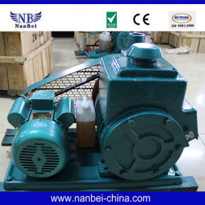 Air Single Stage Oil Rotary Vacuum Pump pictures & photos