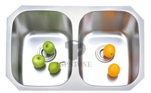 Double Stainless Steel Sink (TSPS006) pictures & photos