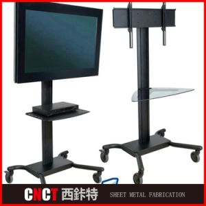 Popular Design Stamping Floor Stand Digital Signage pictures & photos