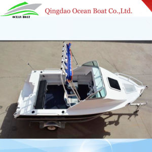 5m with Big Fishing Space Aluminum Fishing Boat pictures & photos