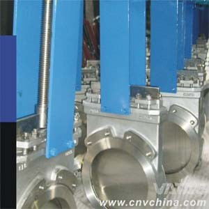 Non-Rising Stem Cast Iron Double Flanged Knife Gate Valve pictures & photos