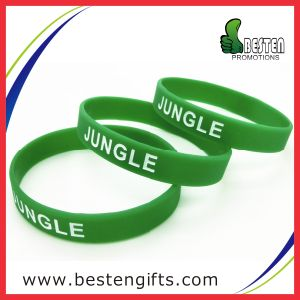 High Quality Silicone Bracelet with Debossed Logo (SW00009)