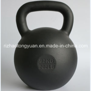 92kg 202lb Cast Iron Kettlebell Factory pictures & photos