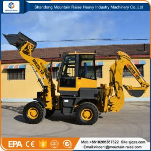 Compact 1.5ton Backhoe Loader with Competitive Price pictures & photos