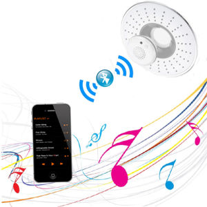 8 Inches Shower Head Waterproof Wireless Bluetooth Speaker pictures & photos