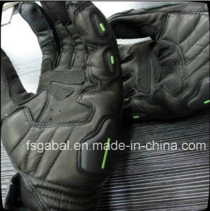 Racing Motorcycle Leather Sport Gloves pictures & photos