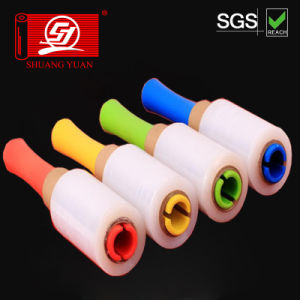 Colorful plastic Core Red Blue Green Handle Wrap Film pictures & photos