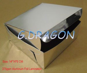 Customed Aluminum Coated Paper Cake Box (GD-CB011) pictures & photos