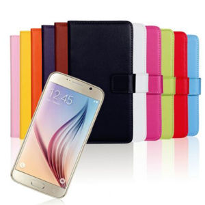 Wallet Card Holder Flip Case for Samsung S6/S6edge pictures & photos