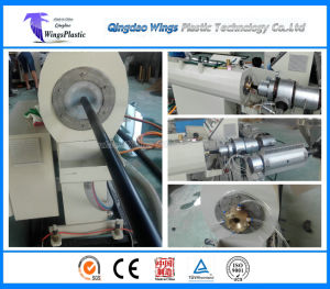 Plastic Water Pipe Making Machine, HDPE Pipe Extrusion Line pictures & photos